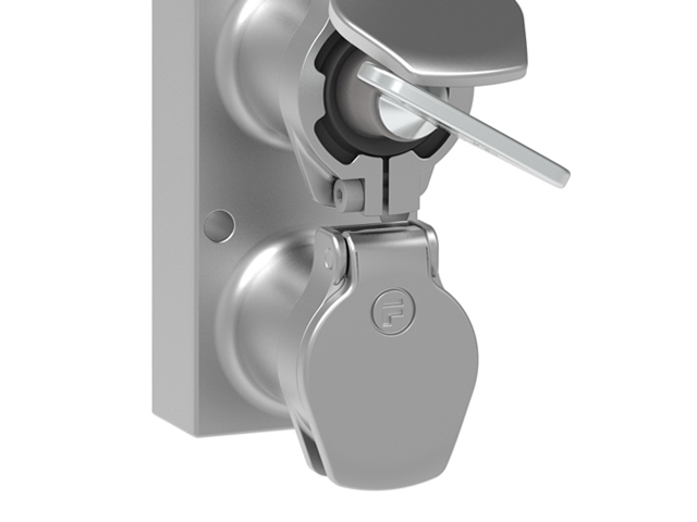 door interlock with safety key