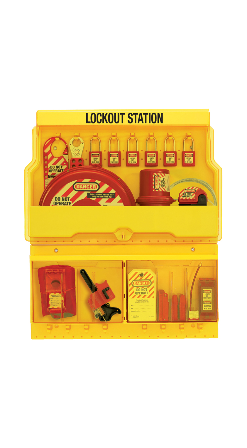 lockout-tagout station