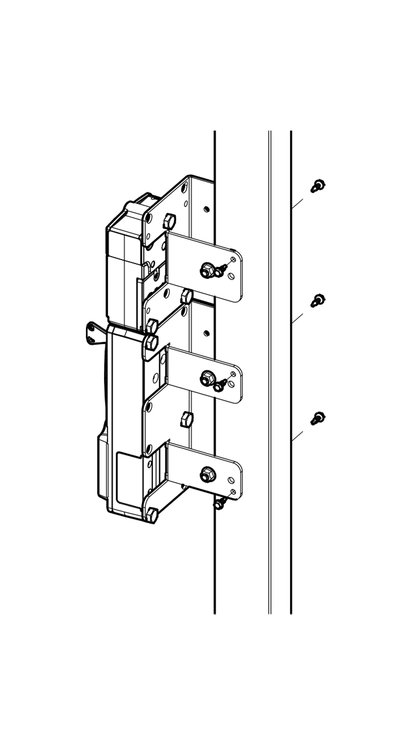 troax mounting brackets for safety switches