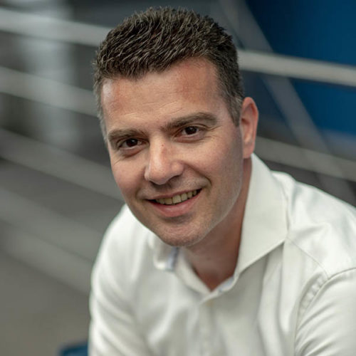 Sales engineer Rick de Jonge small