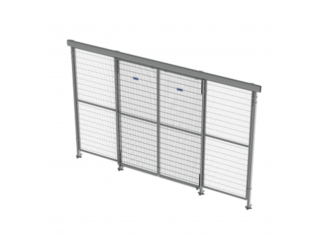 troax double sliding door