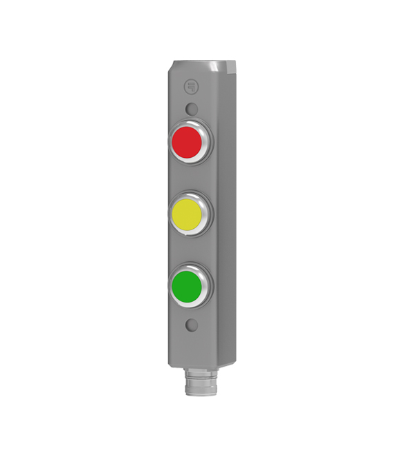 push button station with plug connection tgard