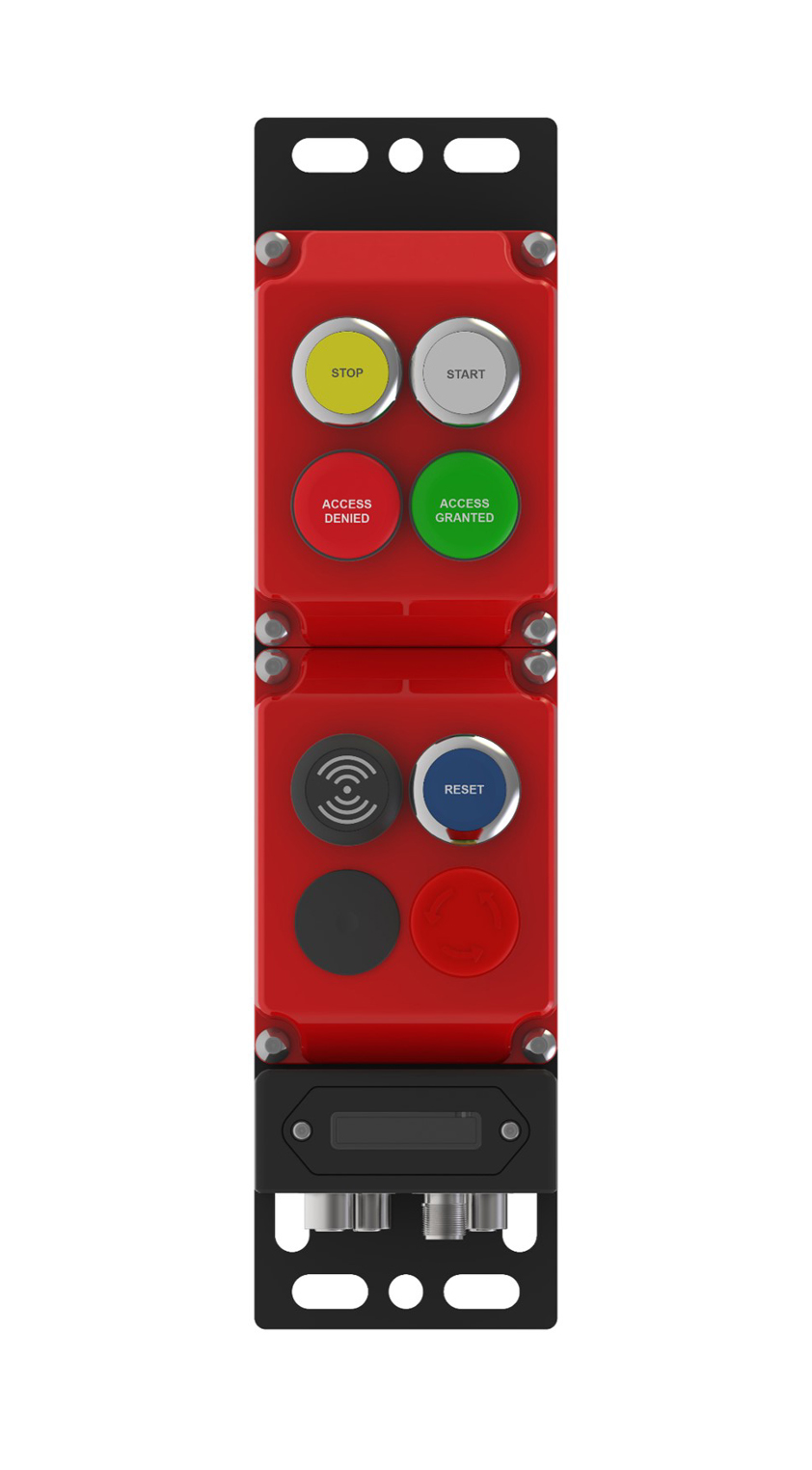 machineveiligheid toegangcontrole met badge