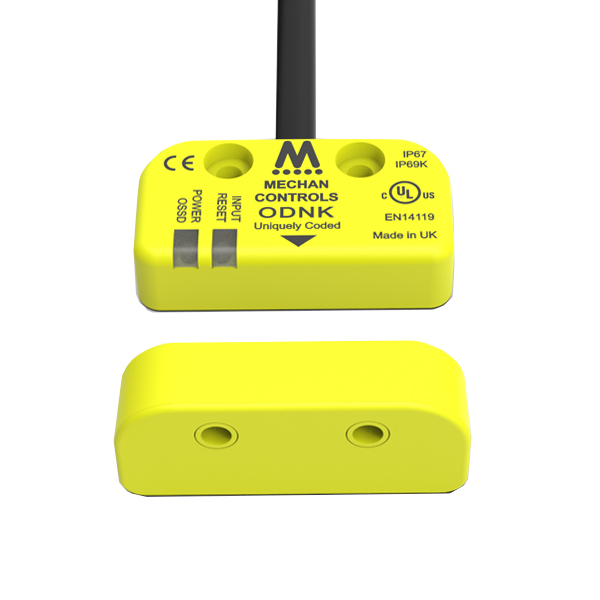 O-Type Mechan Controls safety switch with external device monitoring EDM